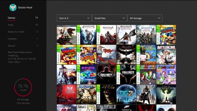 Xbox One letnia aktualizacja