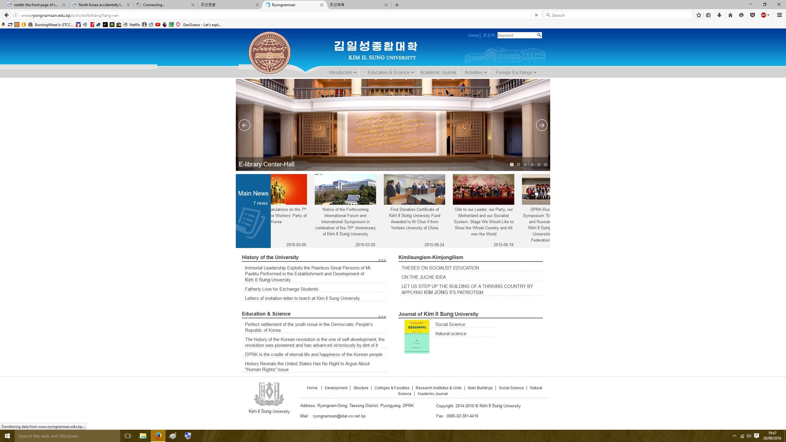 kim-il-sung-university
