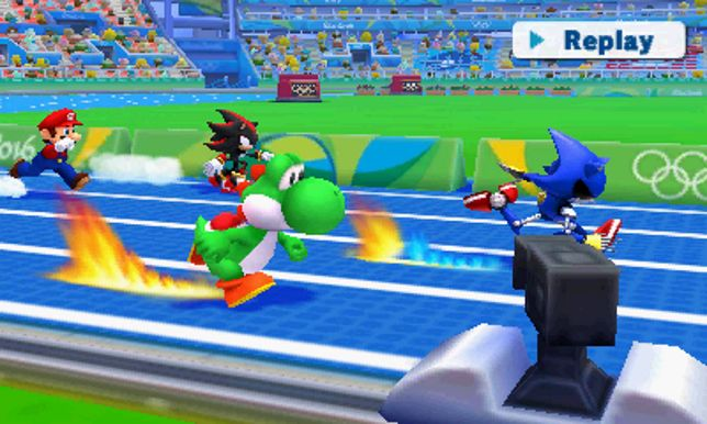 Mario & Sonic at the Rio 2016 Olympic Games 2