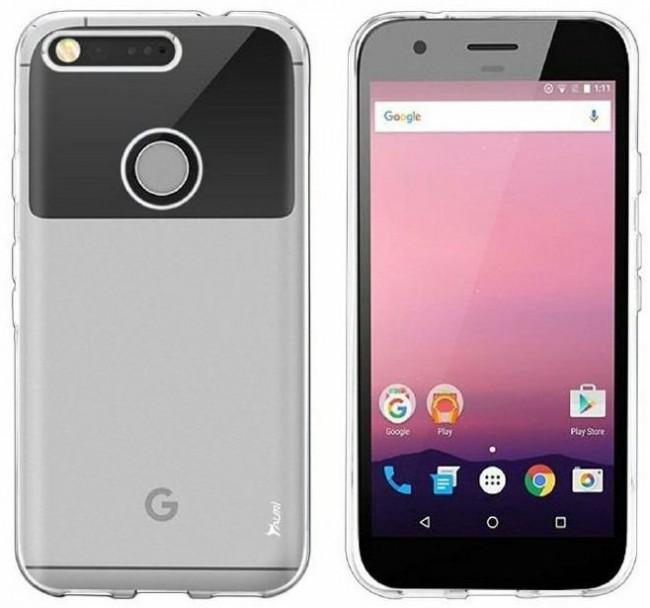 Google Pixel (Nexus 2016) w obudowie - źródło: bgr.com