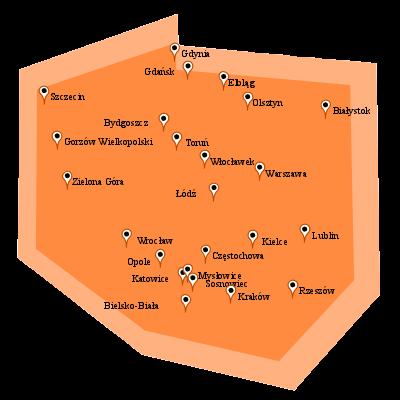 Aktualna dostępność światłowodu Orange.