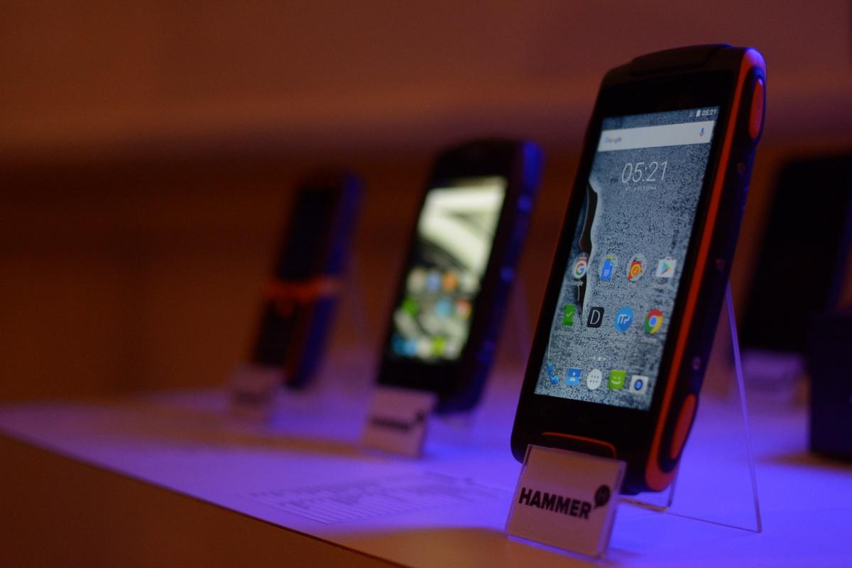 MyPhone Hammer to linia super wytrzymałych smartfonów.