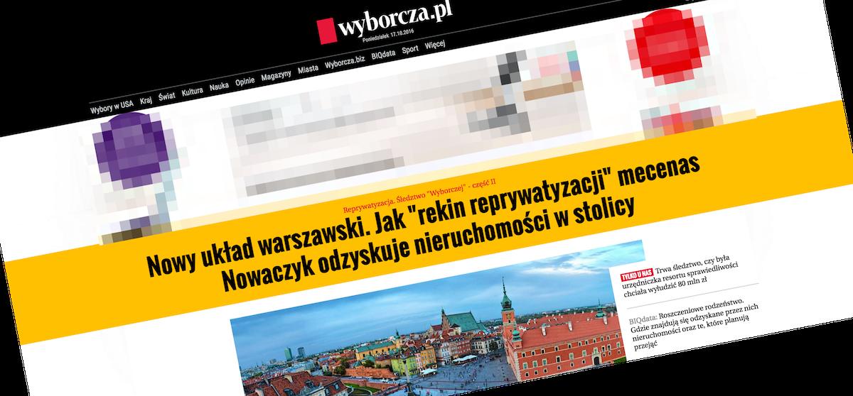 Mamy nowy najładniejszy portal informacyjny w Polsce – nowa Wyborcza.pl zachwyca