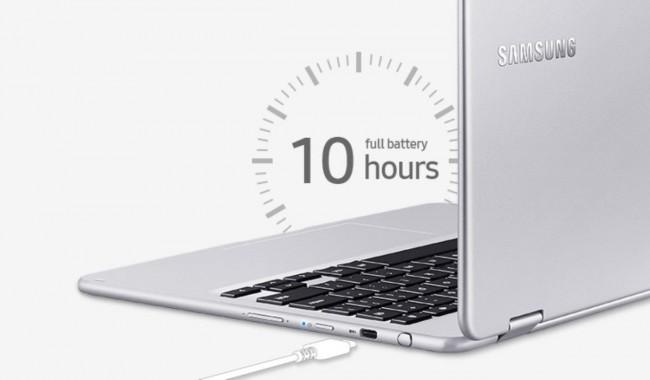 Samsung Chromebook Pro Bateria