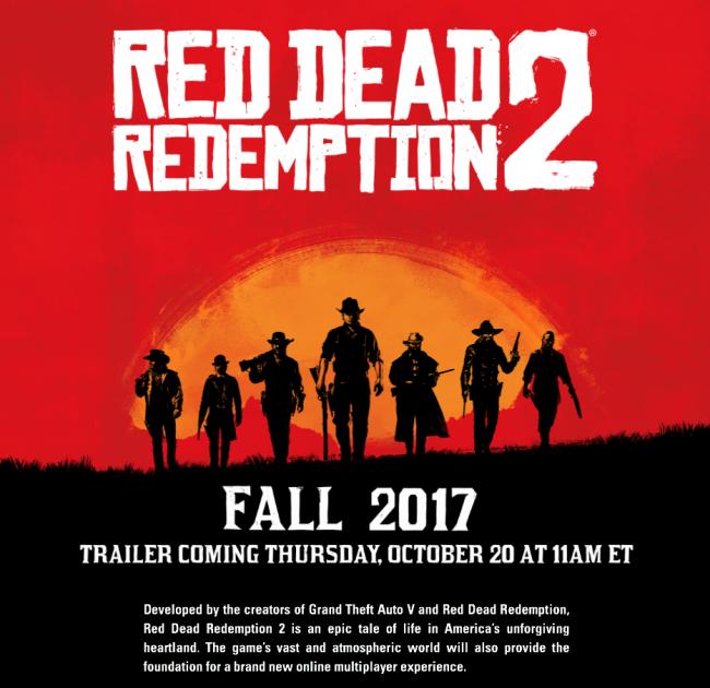 Red Dead Redemption Trailer Multiplayer