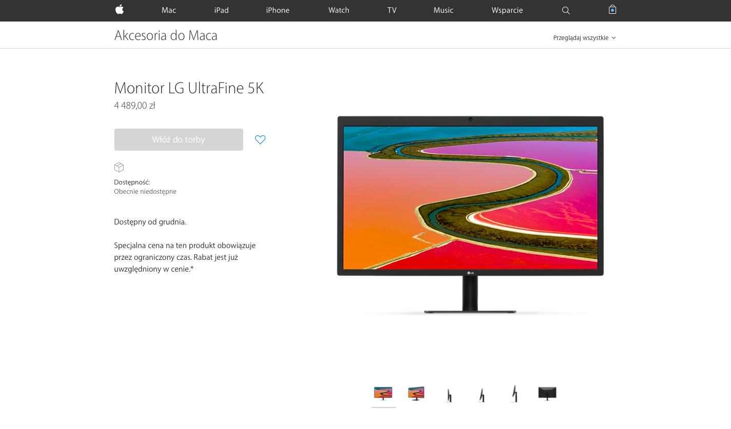 LG Ultrafine to kapitalne monitory, teraz w dobrych cenach.