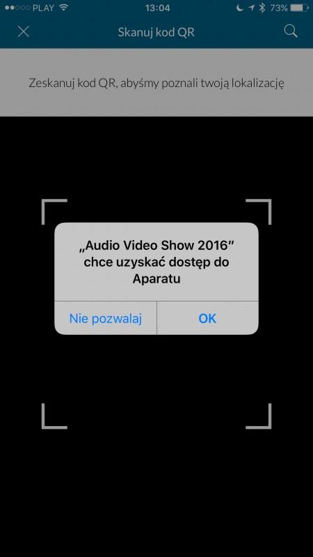 Audio Video Show 2016 - aplikacja mobilna iPhone App Store