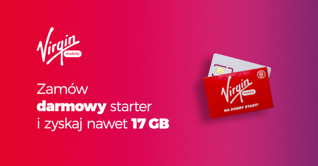 Bezpłatny starter Virgin Mobile