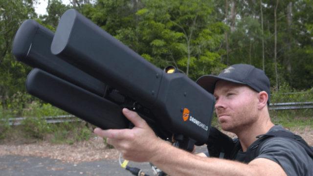 DroneGun - strzelba na drony