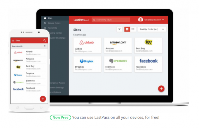 LastPass wprowadza darmową synchronizację haseł.