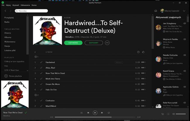 Spotify piractwo