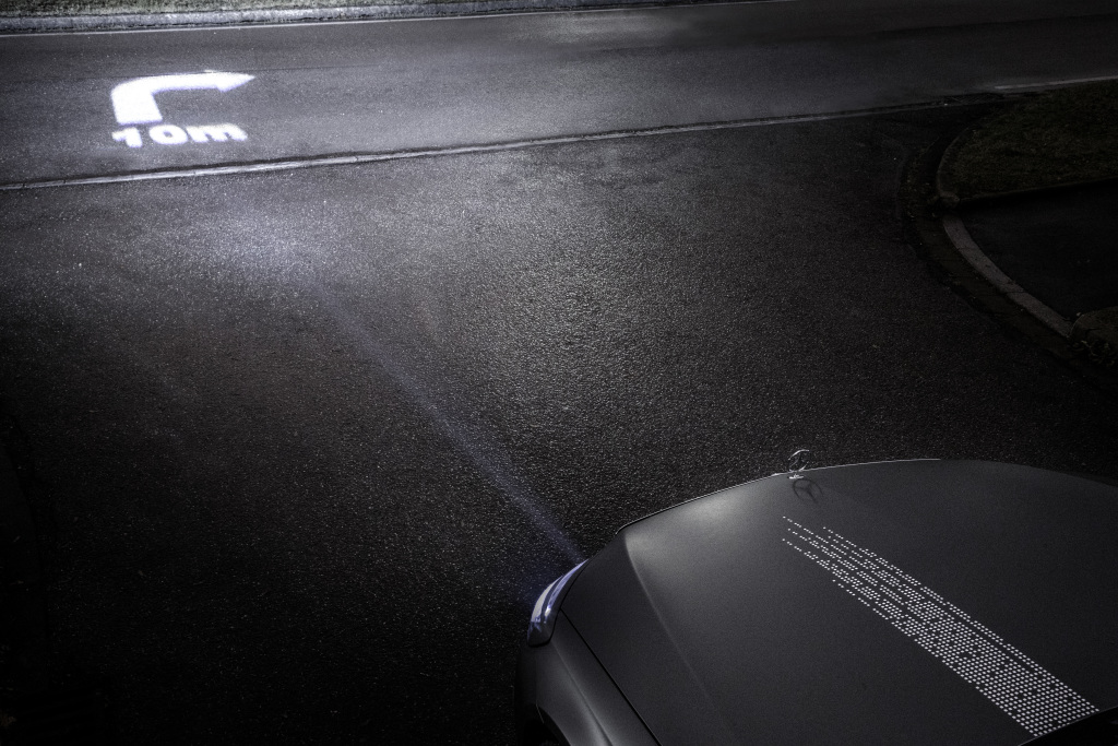 Revolution der Scheinwerfertechnologie: Mercedes leuchtet in HD-Qualität