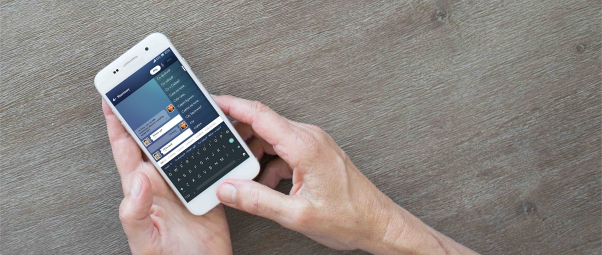 Czy na smartfonie można pisać jeszcze szybciej? Polacy chcą udowodnić, że tak