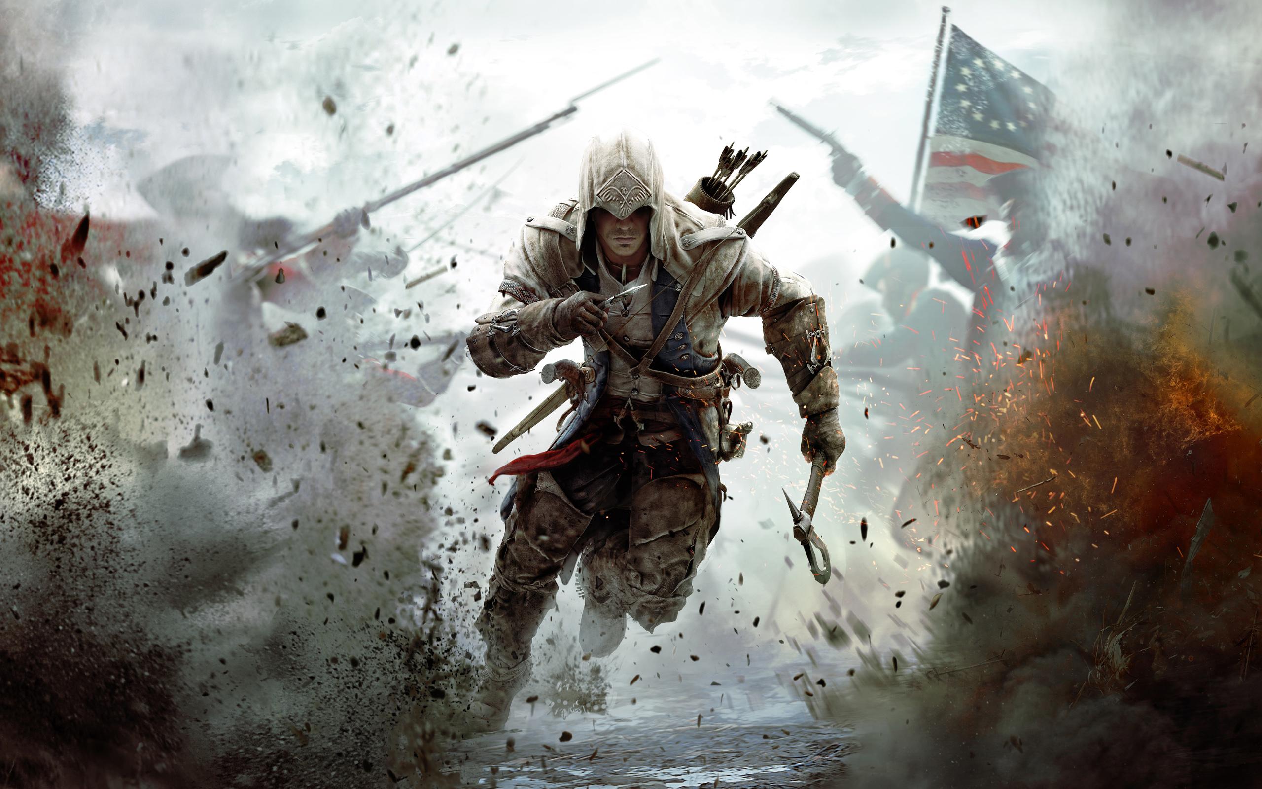 Assassin's Creed III zupełnie za darmo, prosto od Ubisoftu