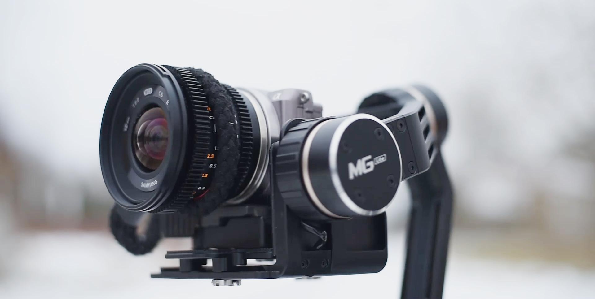 Feiyu Tech MG Lite, czyli gimbal do małych aparatów – recenzja Spider's Web