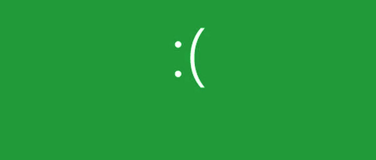 Nadchodzi zielony ekran śmierci w Windows 10. Zobaczą go… najodważniejsi użytkownicy
