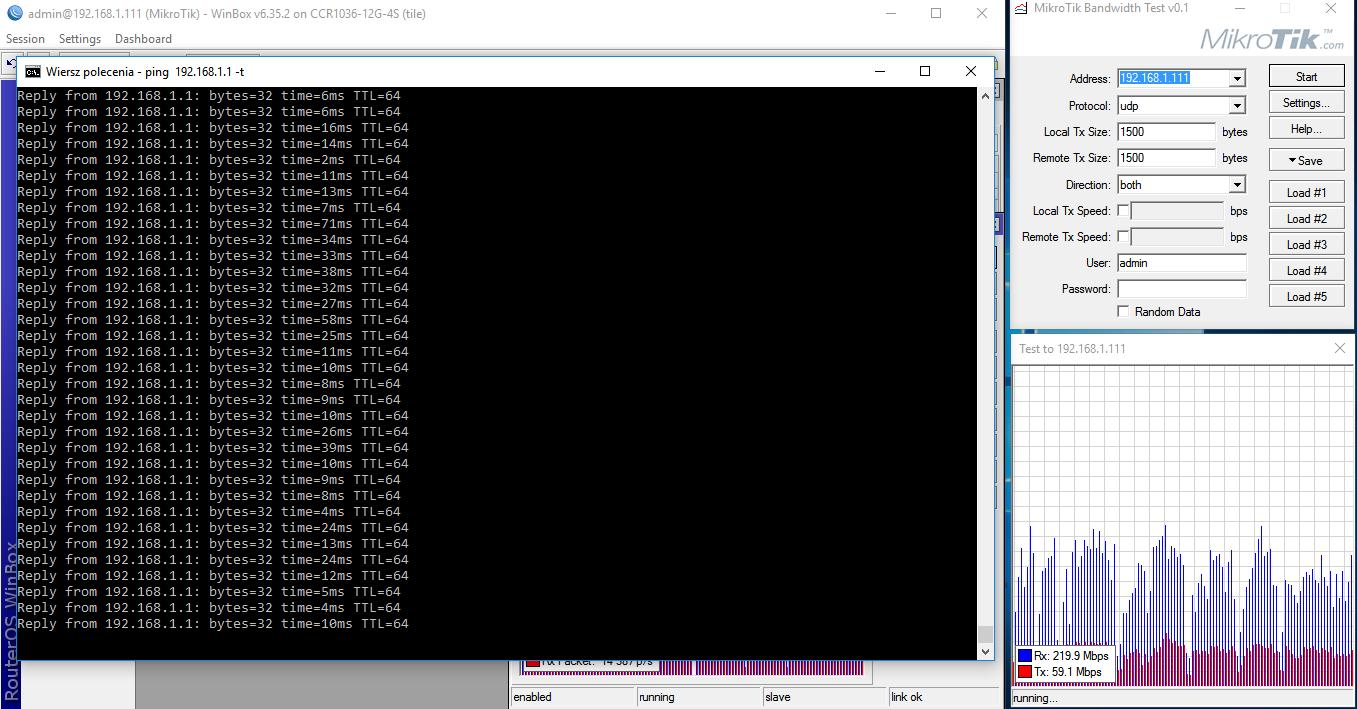 AC1200 totolink udp both icmp