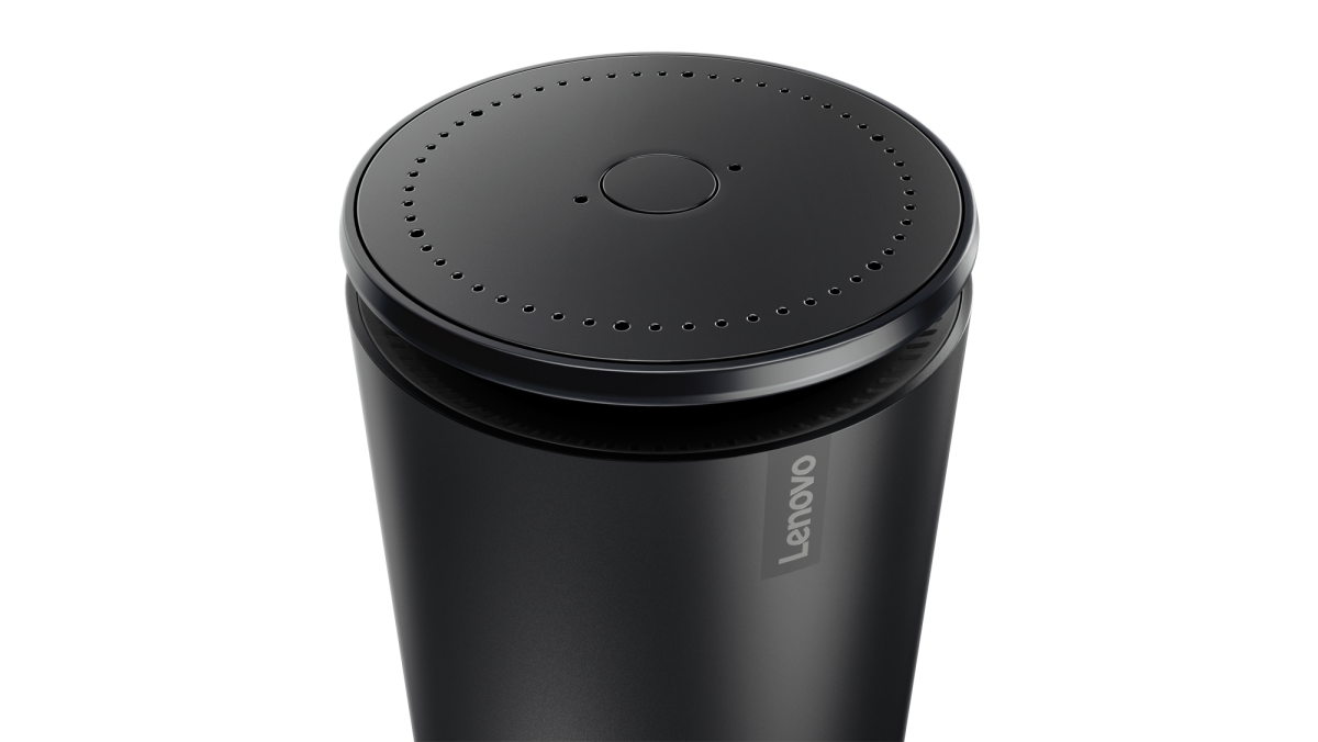 lenovo-smart-assistant-with-8-far-field-mics-in-dark-gray