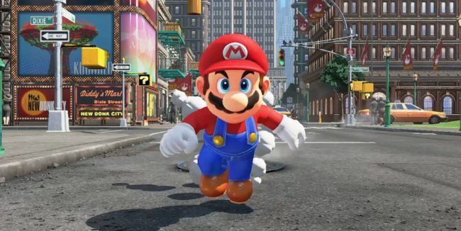 Nintendo Switch Super Mario Odyssey 8