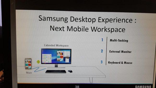 Samsung Desktop Experience zamieni Samsunga Galaxy S8 w pełnoprawny komputer.