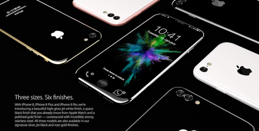 iphone 8 concept, 3