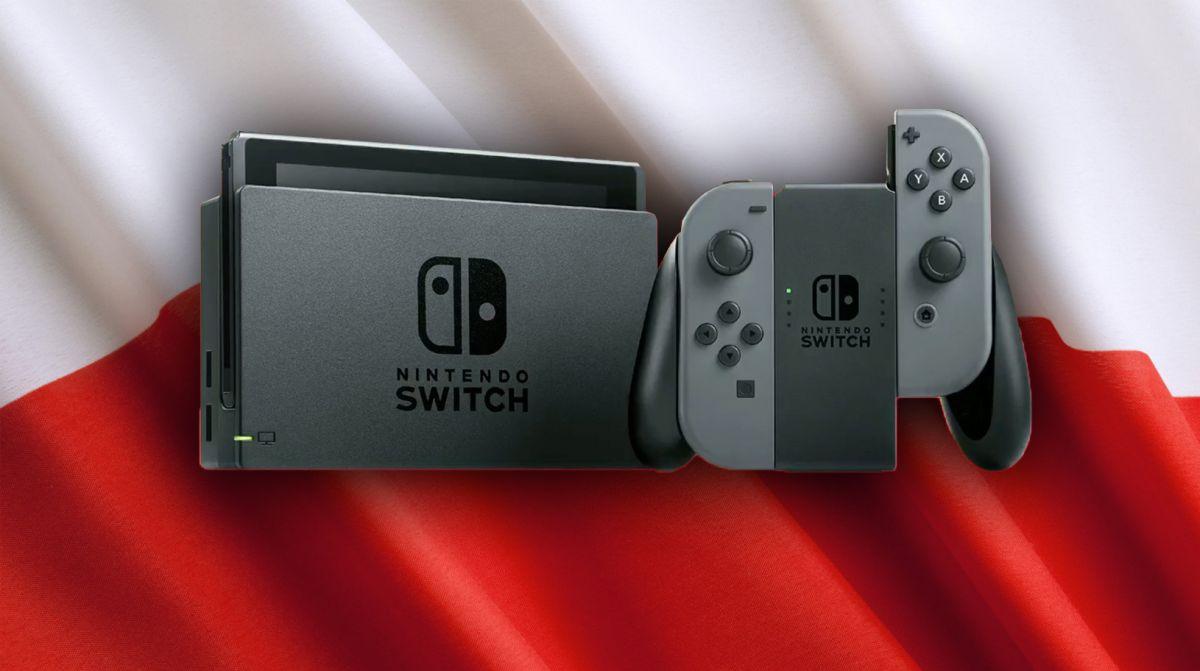Głupia sprawa – na Switchu kupuje sięw złotówkach, są polskie znaki, ale Nintendo udaje, że Polska nie istnieje