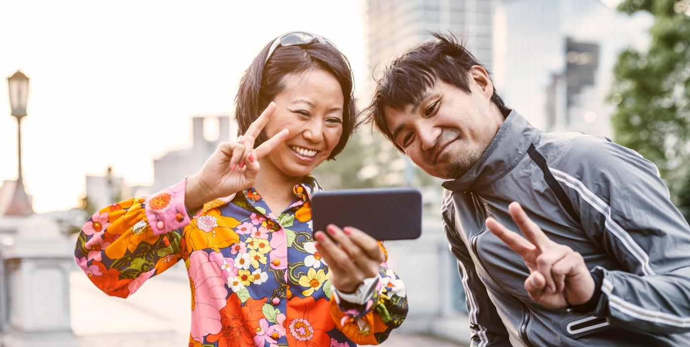 No nieźle… Odcisk palca pozyskany ze zwykłego selfie! Japończycy już to potrafią