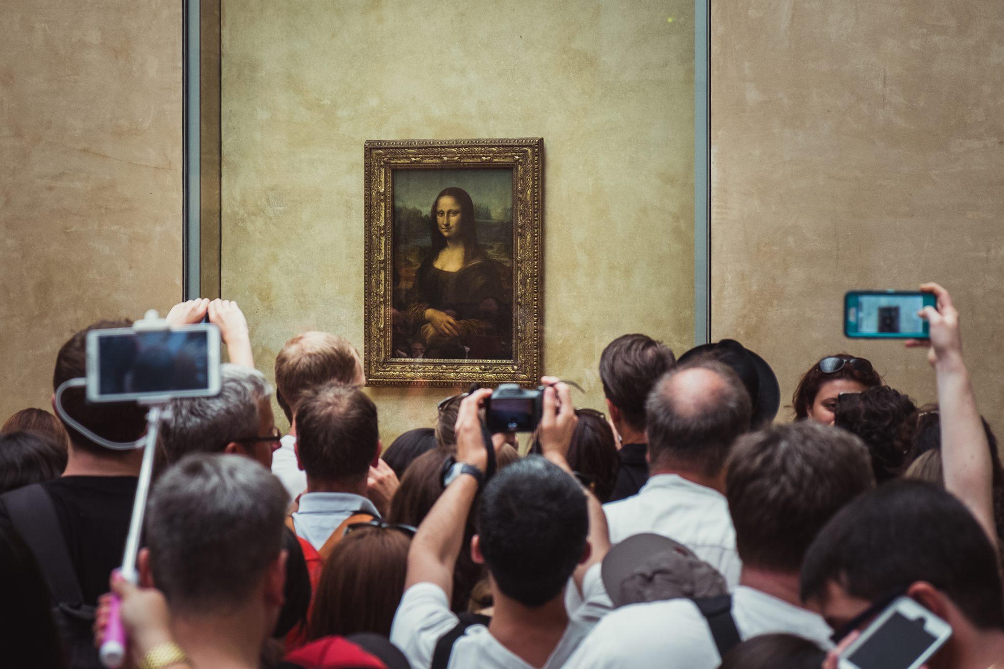 Fot. Marcin Połowianiuk - Mapa Luwru z perspektywy Instagrama. Zgadnij ,gdzie jest Mona Lisa