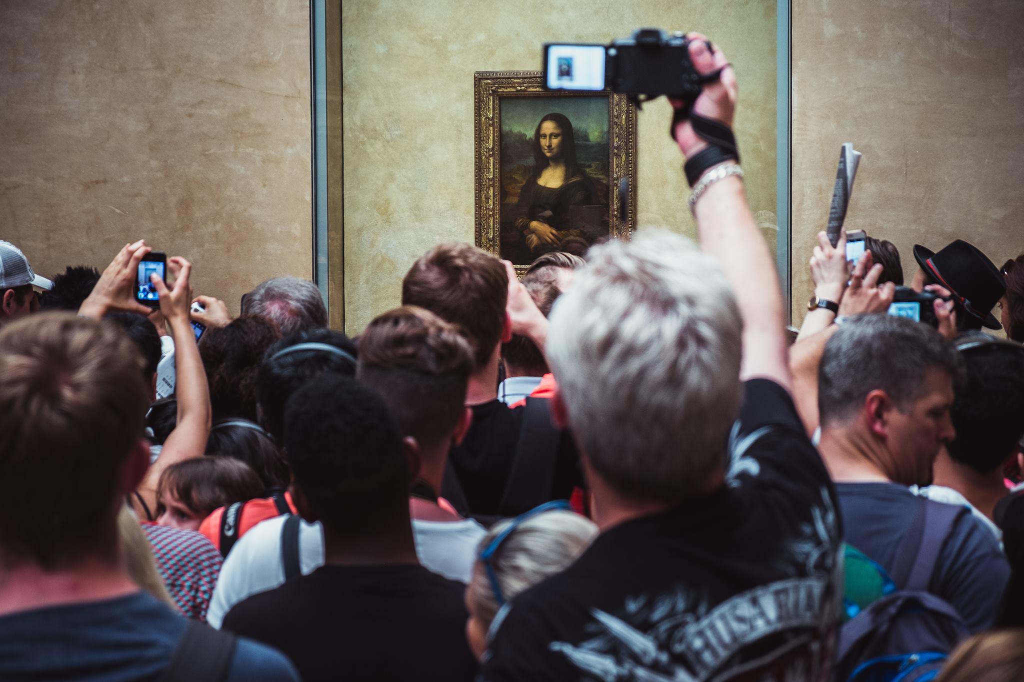 Mapa Luwru z perspektywy Instagrama. Zgadnij ,gdzie jest Mona Lisa