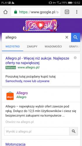 Allegro Oszustwo