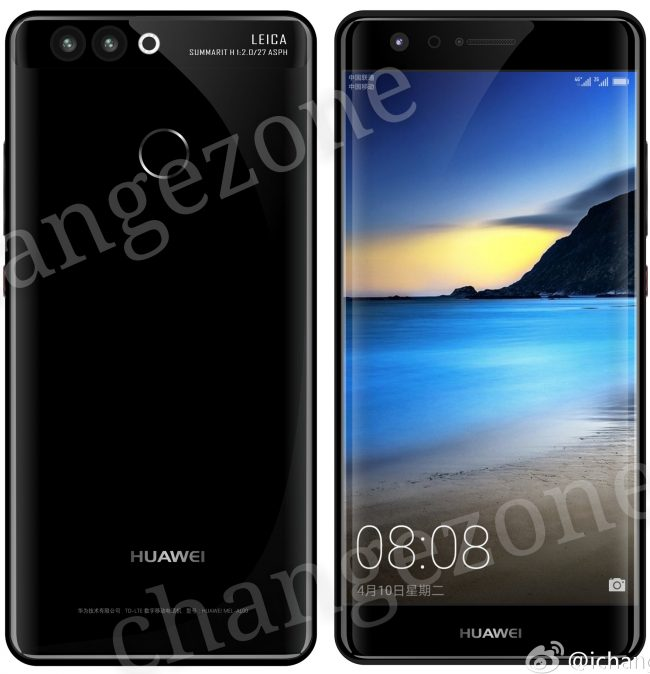Oto Huawei P10 Plus.