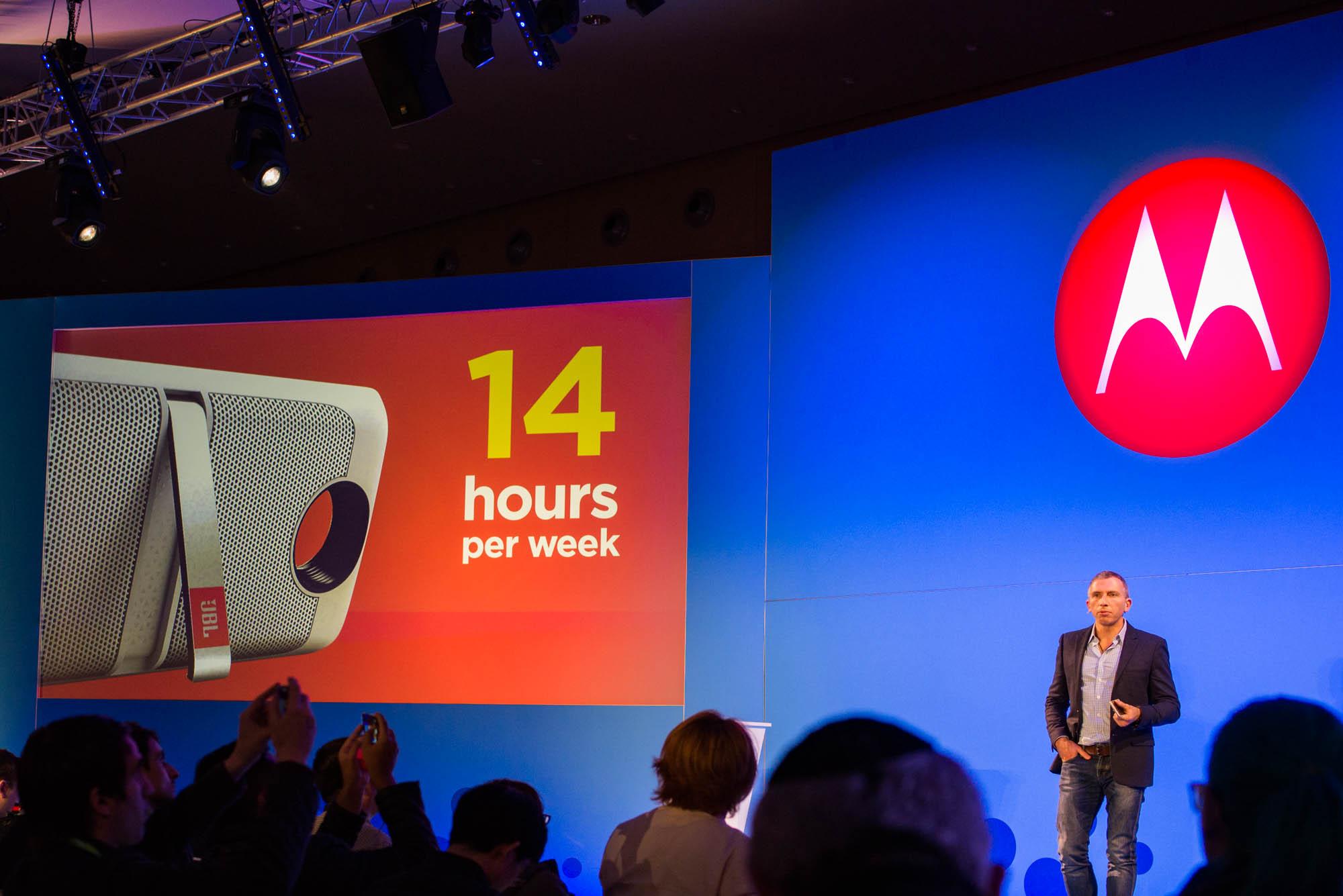 14 godzin tygodniowo - tyle czasu użytkownicy korzystają z modułu JBL.