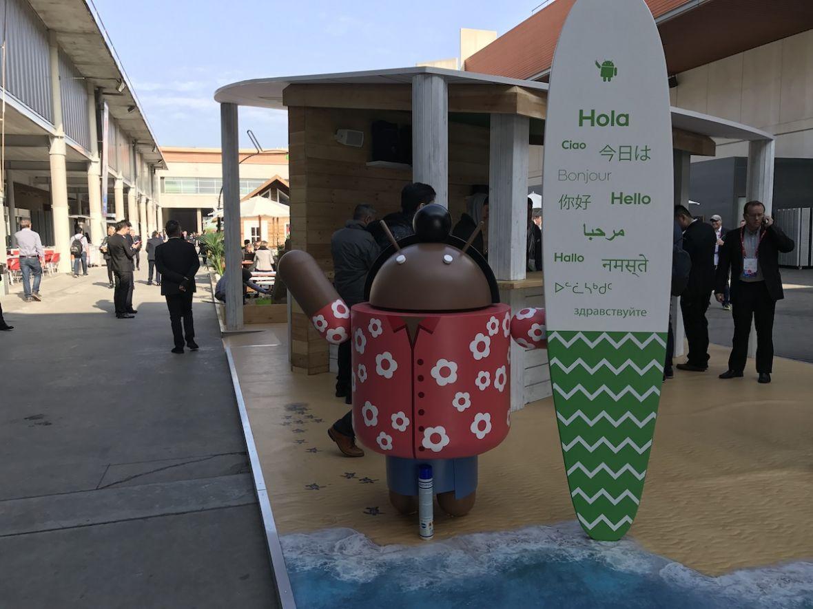 Odwiedziliśmy wioskęfanów Androida