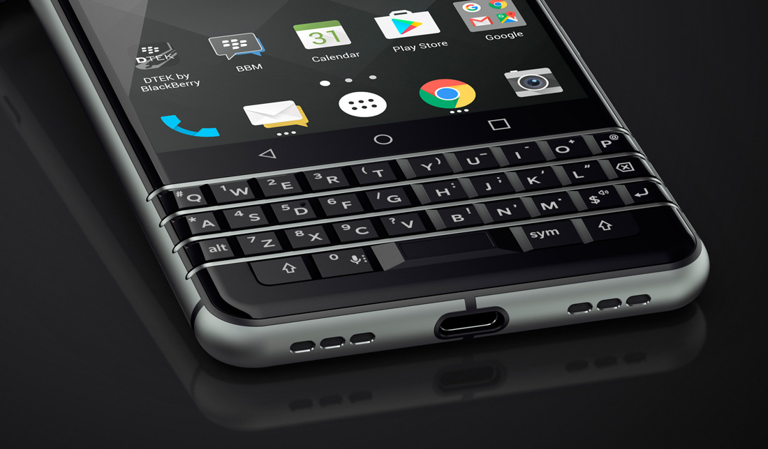 Koniec tajemnic – nowy smartfon BlackBerry to… KeyOne