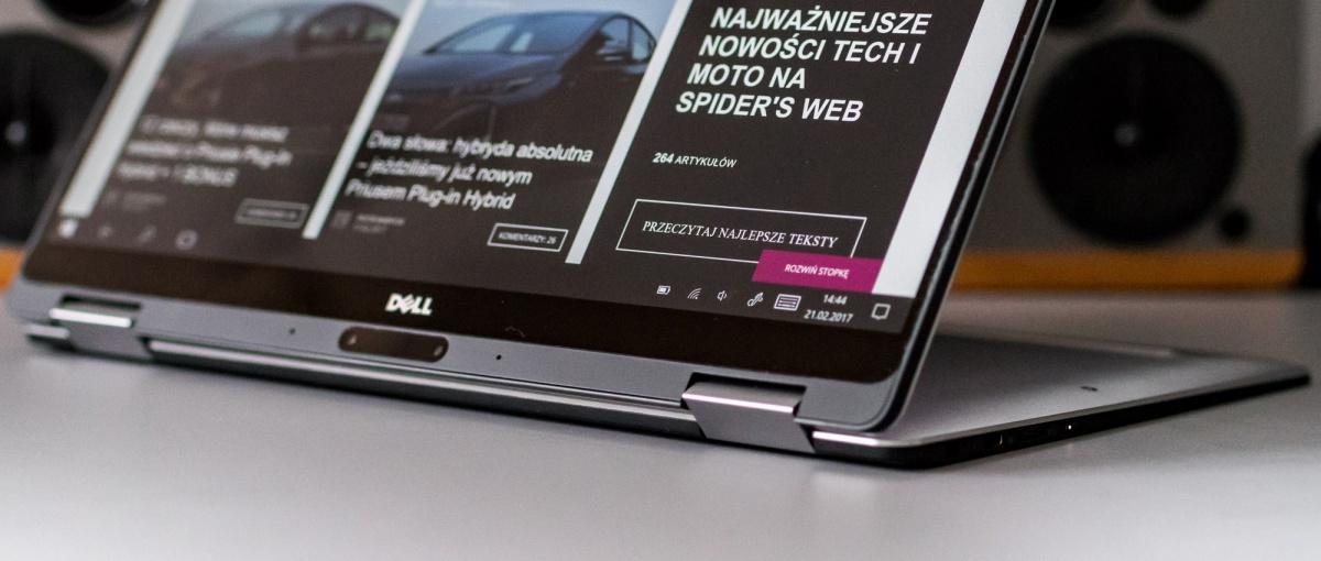 Lepsze jest wrogiem dobrego. Dell XPS 13 2w1 – recenzja Spider's Web