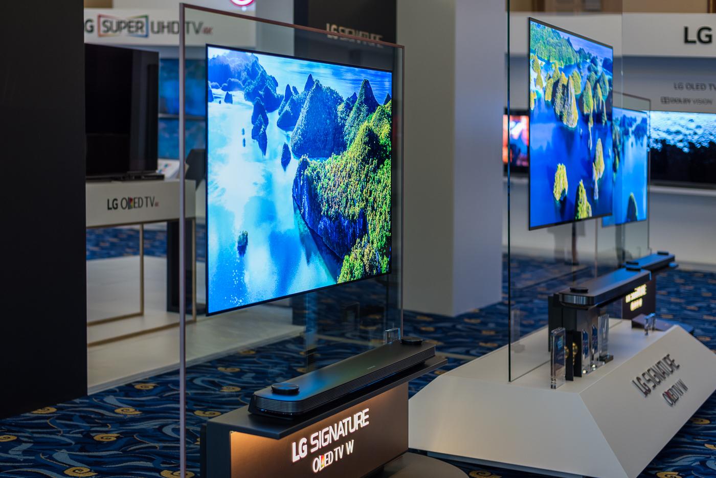 LG Innofest 2017 soundbar