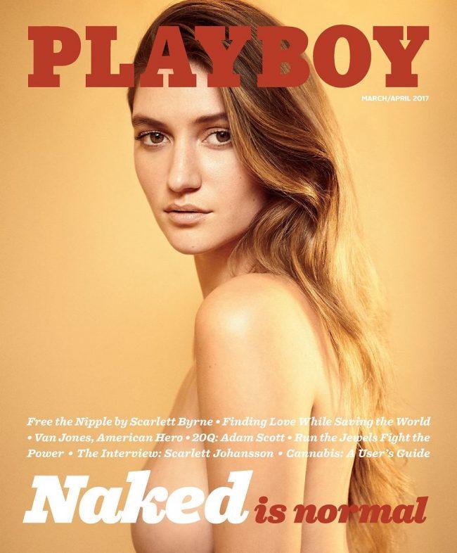 Playboy wraca do nagich zdjęć - okładka nowego numeru