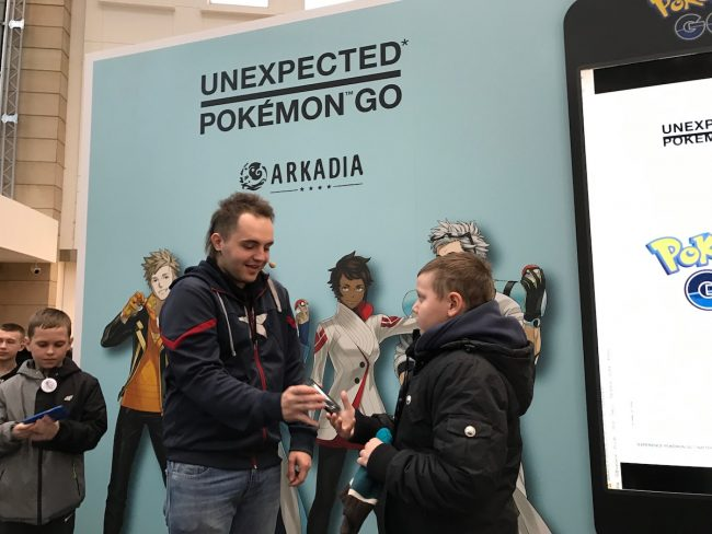 Pokemon GO Arkadia