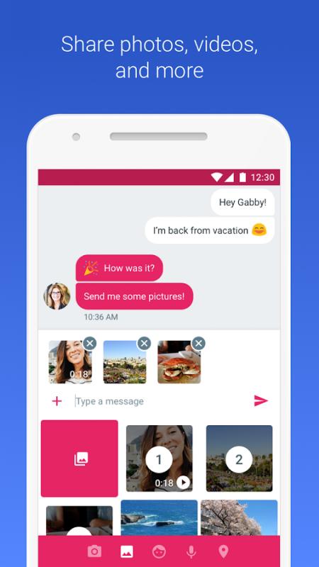 Wiadomości na Androida następca SMS RCS