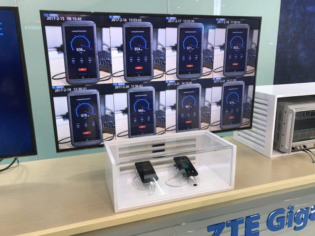 ZTE Gigabit Phone 5G 1 Gbps MWC 2017