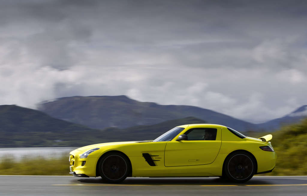 Mercedes AMG SLS electric