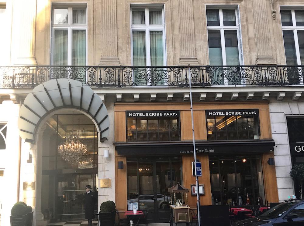 Hotel Scribe, 1