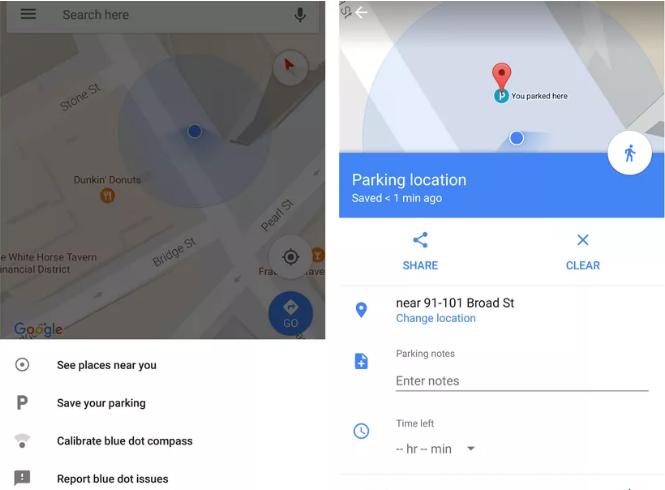 Mapy Google nie pozwolą ci zapomnieć, gdzie zostawiłeś samochód