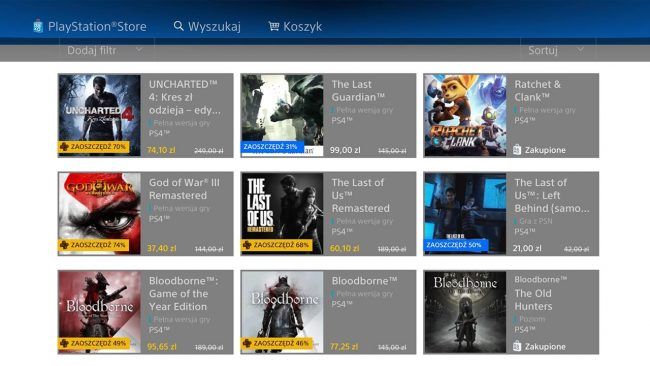 PlayStation Store 4