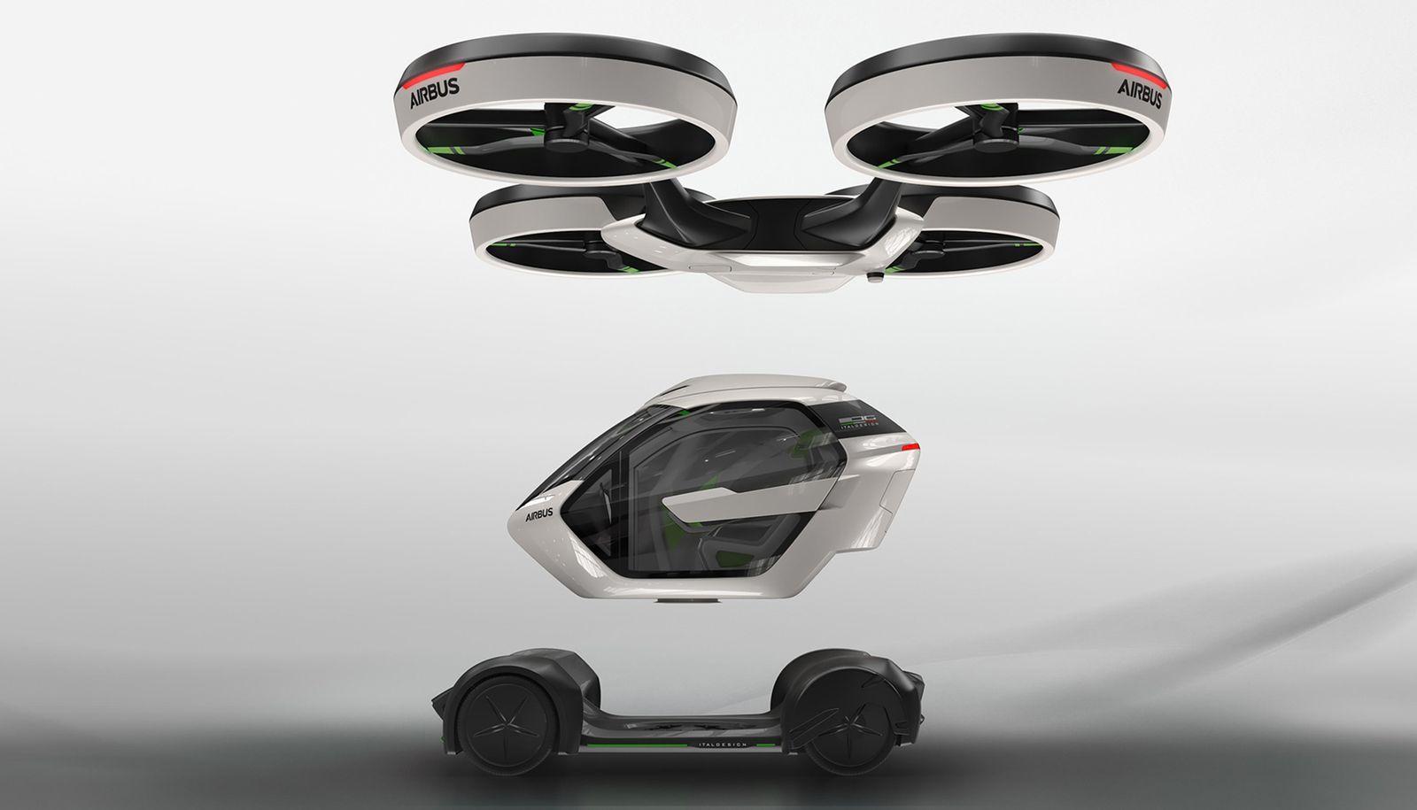 Airbus Pop.up - koncept pojazdu przyszłości