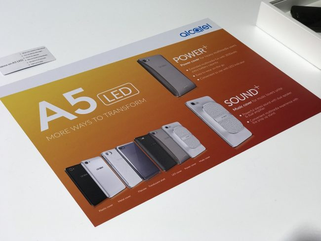 Alcatel A5 LED MWC 2017