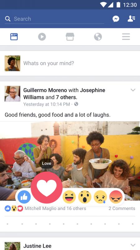 Facebook na Androidzie