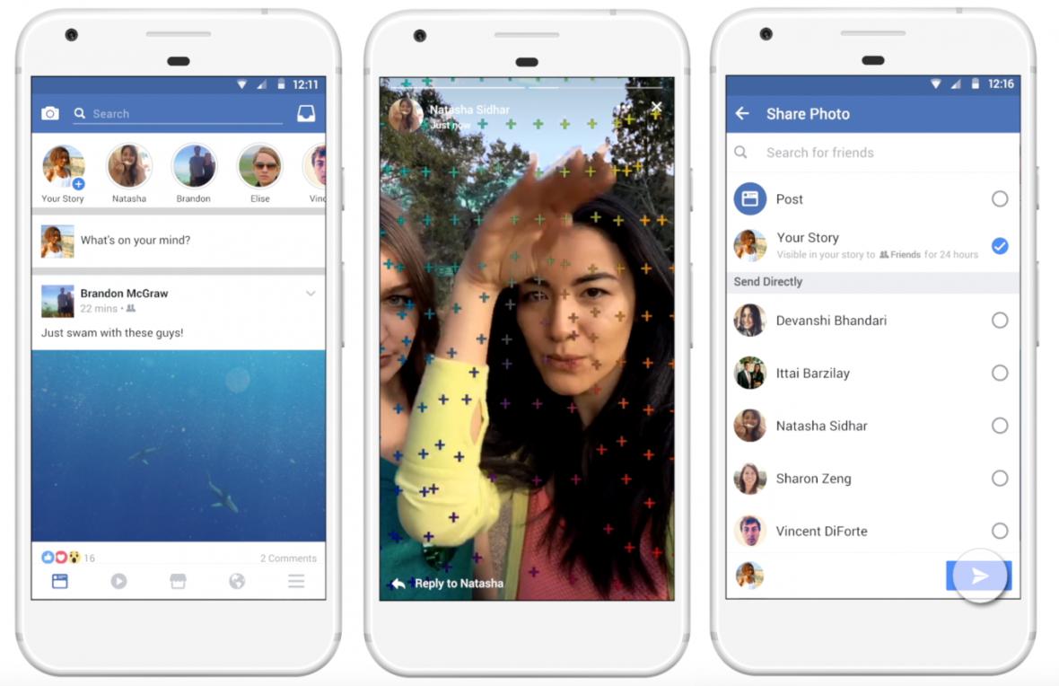 24 godziny na obejrzenie wiadomości. Jeśli nie zdążysz, przepada. Brzmi jak Snapchat? Nie, to nowy Facebook