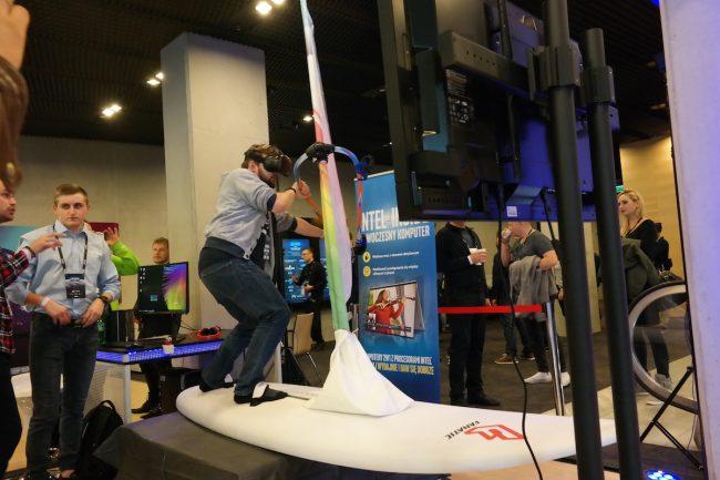 Intel IEM 2017 surfing vr