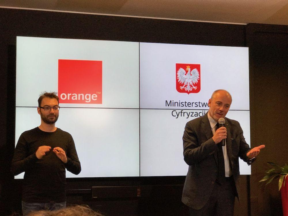 Orange Polska - Ministerstwo Cyfryzacji